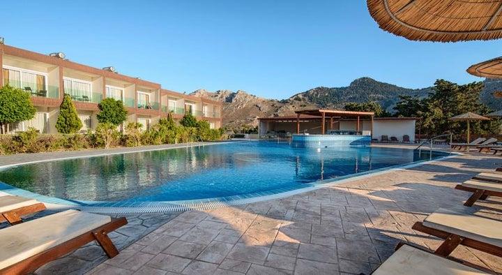 Anavadia Hotel in Kolymbia, Rhodes, Greek Islands