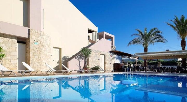 Elotis Suites in Aghia Marina, Crete, Greek Islands