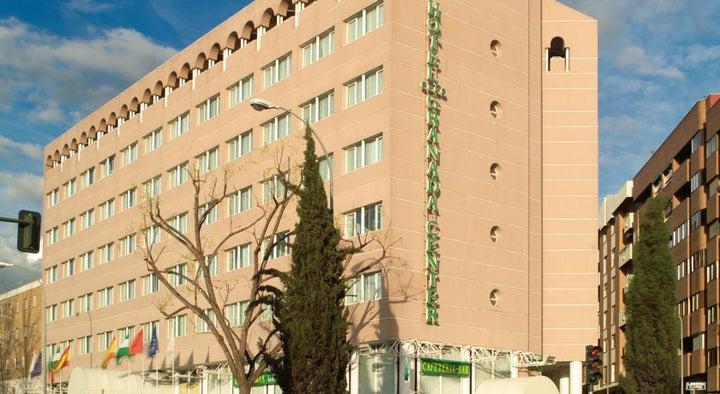 Granada Center in Granada, Andalucia, Spain