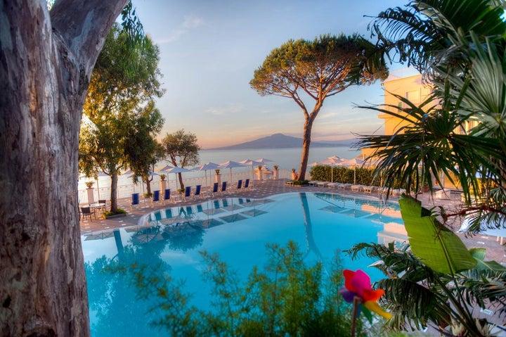 Grand Hotel Riviera in Sorrento, Neapolitan Riviera, Italy