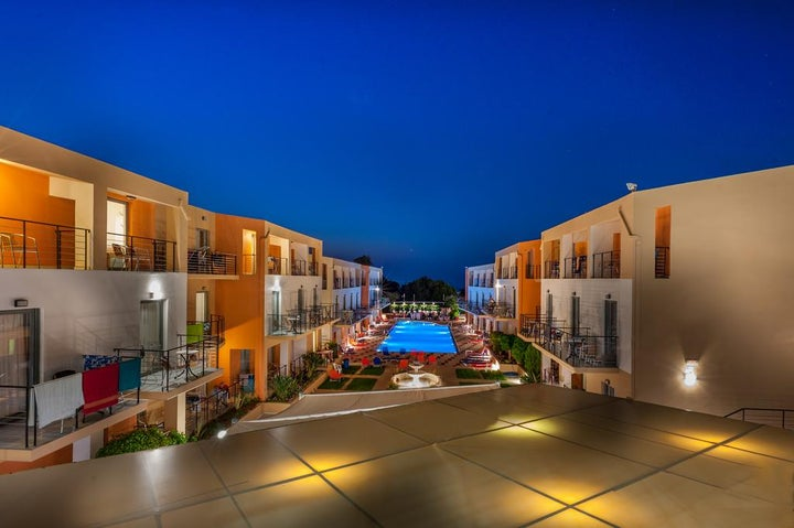 Sunrise Village Hotel-Platanias in Platanias, Crete, Greek Islands
