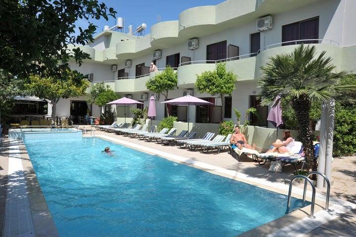 Anseli Hotel in Kremasti, Rhodes, Greek Islands