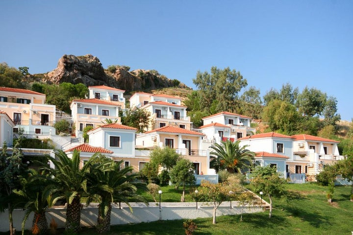 Clara Hotel in Petra, Lesbos, Greek Islands