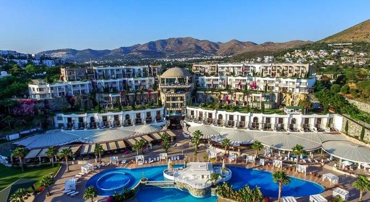 Sianji Well Being Resort in Turgutreis, Aegean Coast, Turkey