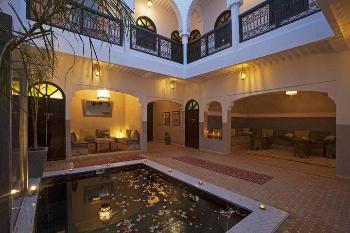 Riad Dabachi in Marrakech, Morocco