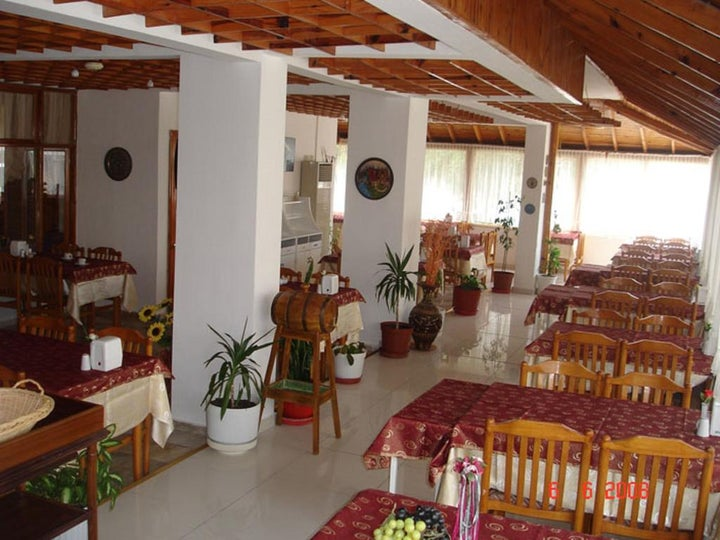 Saadet Hotel in Altinkum, Aegean Coast, Turkey