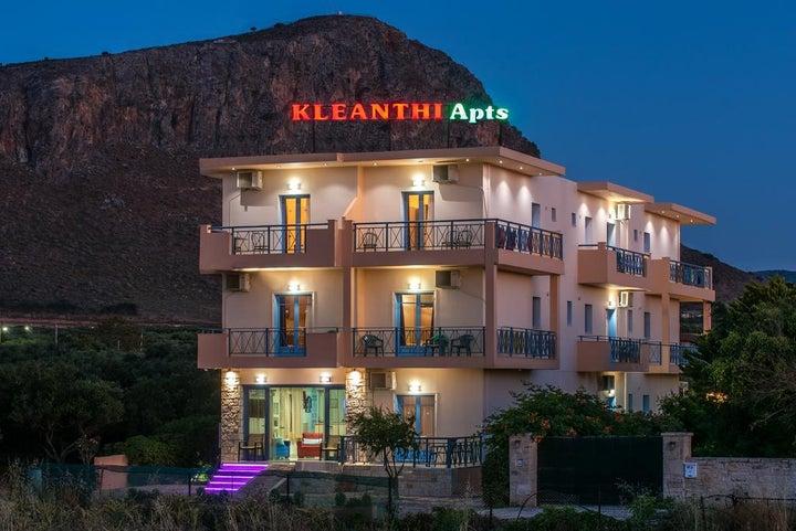 Kleanthi Apartments in Gouves, Crete, Greek Islands
