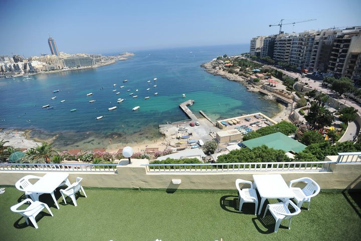 Carlton Hotel in Sliema, Malta