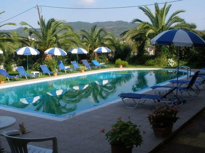 Elena Pool Apartments in Aghios Georgios, Corfu, Greek Islands