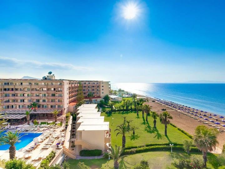 Sun Beach Resort in Ialyssos, Rhodes, Greek Islands