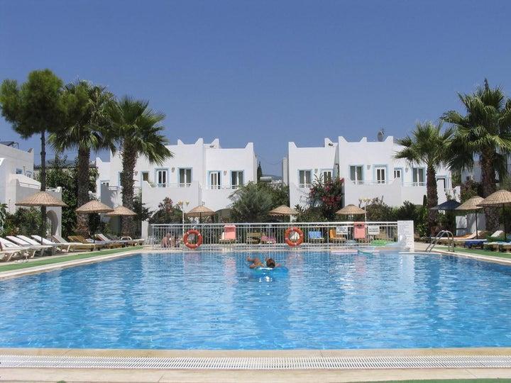 Bagevleri Hotel in Gumbet, Aegean Coast, Turkey