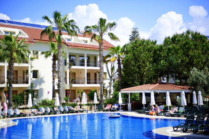Kentia Apartments in Side, Antalya, Turkey