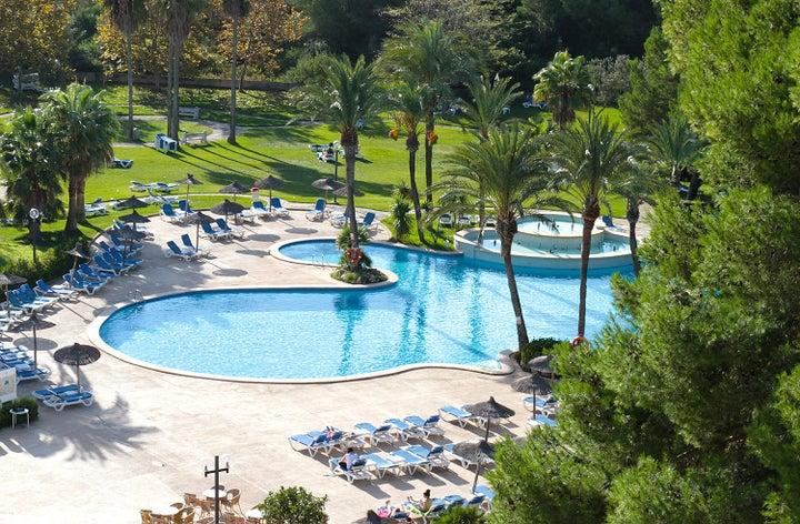 Exagon Park in Ca'n Picafort, Majorca, Balearic Islands