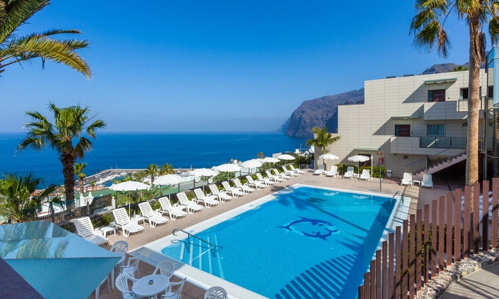 SKA Diamond Aparthotel in Los Gigantes, Tenerife, Canary Islands