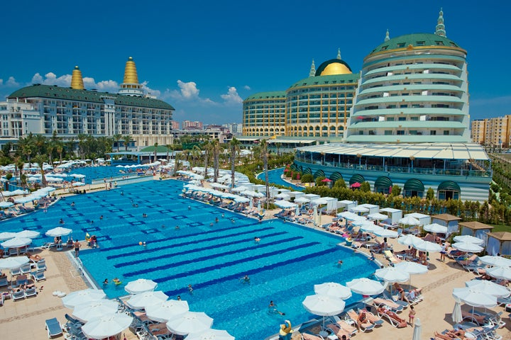 Delphin Imperial in Lara Beach, Antalya, Turkey