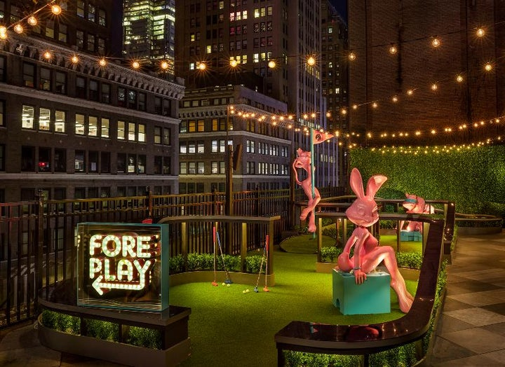Moxy NYC Times Square in New York, New York, USA