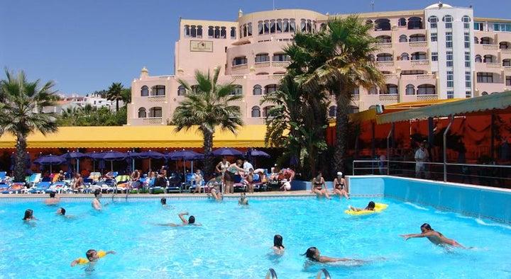 Monica Isabel Beach Club in Albufeira, Algarve, Portugal