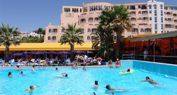 Monica Isabel Beach Club In Albufeira Algarve Portugal