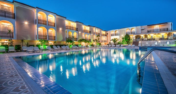 Zante Sun Hotel In Lithakia Greek Islands