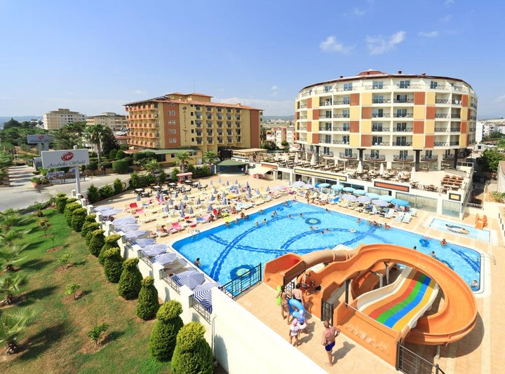 Arabella World Hotel in Alanya, Antalya, Turkey
