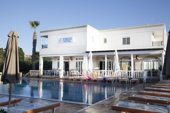 Zeus Hotel in Kefalos, Kos, Greek Islands