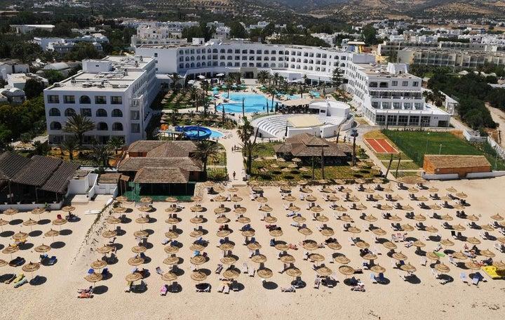Vincci Nozha Beach & Spa in Hammamet, Tunisia