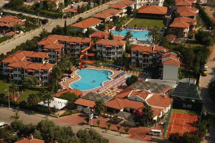 Alize Hotel in Olu Deniz, Dalaman, Turkey