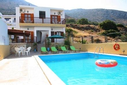Elgoni Apartments in Hersonissos, Crete, Greek Islands