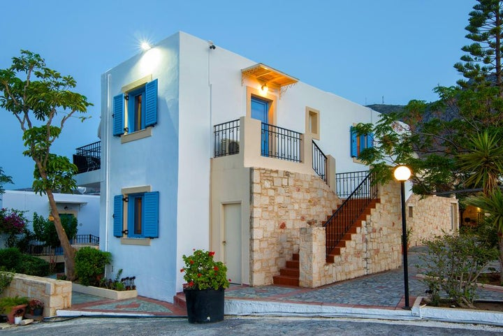 Lofos Apartments in Hersonissos, Crete, Greek Islands