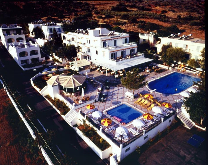 Anastasia Hotel in Stalis, Crete, Greek Islands