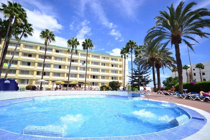 Playa del Sol in Playa del Ingles, Gran Canaria, Canary Islands