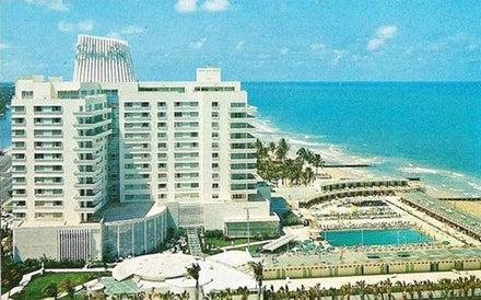 Eden Roc Miami Beach in Miami Beach, Florida, USA