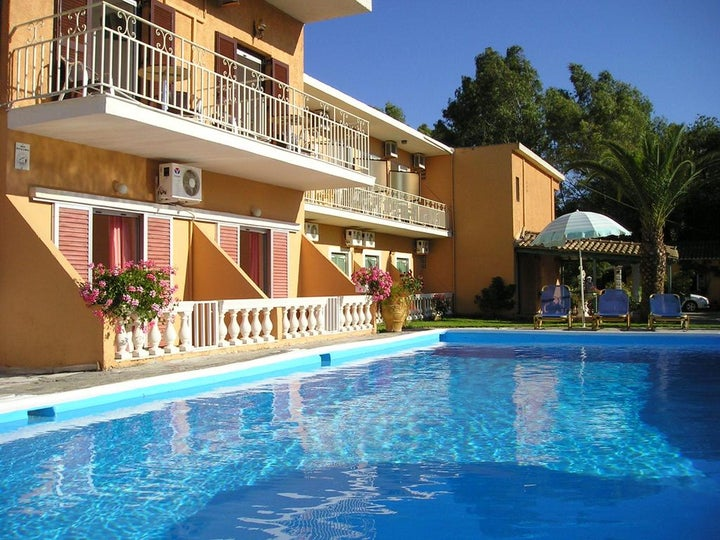 River Studios and Apartments in Messonghi, Corfu, Greek Islands