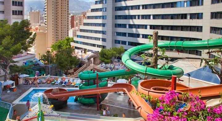 Magic Aqua Rock Gardens Hotel in Benidorm, Costa Blanca, Spain