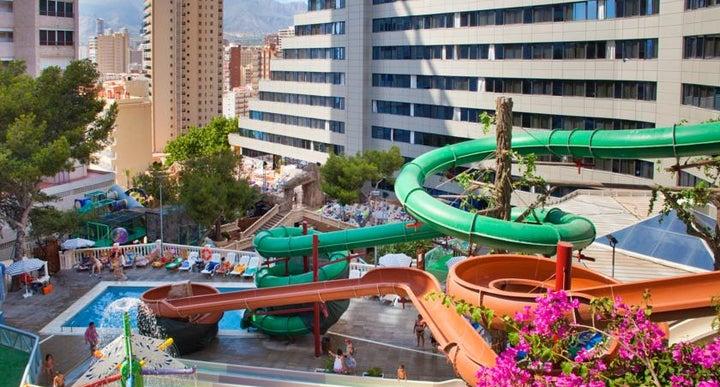 Magic Aqua Rock Gardens Hotel In Benidorm Costa Blanca Spain