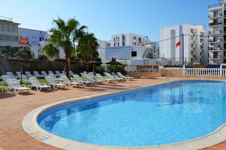 Hotel-Apartamentos Central City in San Antonio, Ibiza, Balearic Islands