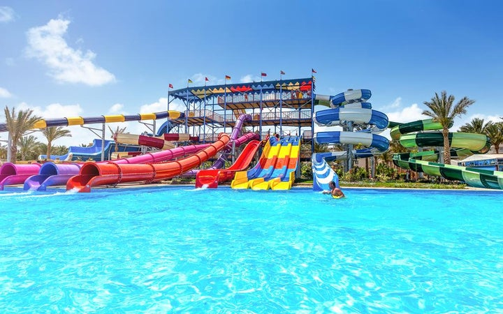 Hawaii Riviera Aqua Park in Hurghada, Red Sea, Egypt