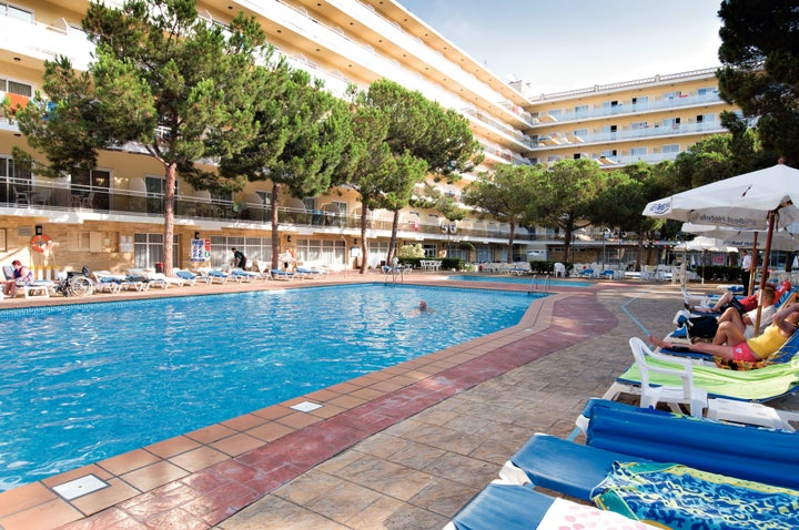 Oasis Park Hotel in Salou, Costa Dorada, Spain