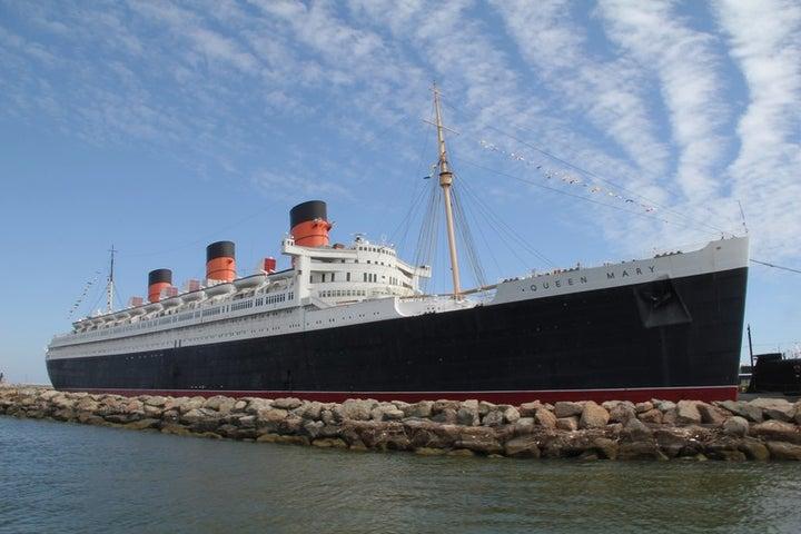 Queen Mary Hotel in Long Beach, California, USA