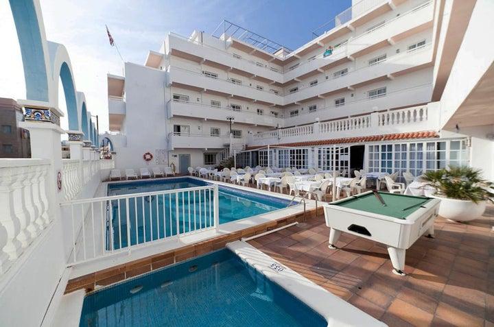 Hotel Apartamentos Lux-Mar in Figueretas, Ibiza, Balearic Islands