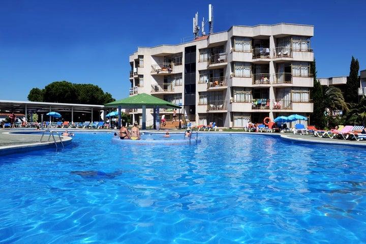 Apartamentos Bolero Park in Lloret de Mar, Costa Brava, Spain