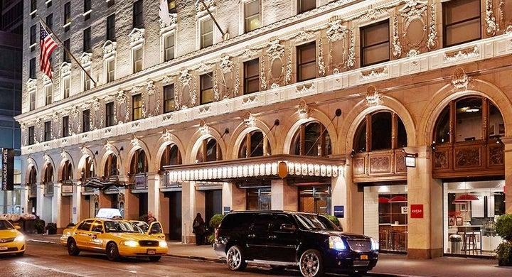 Paramount in New York, New York, USA