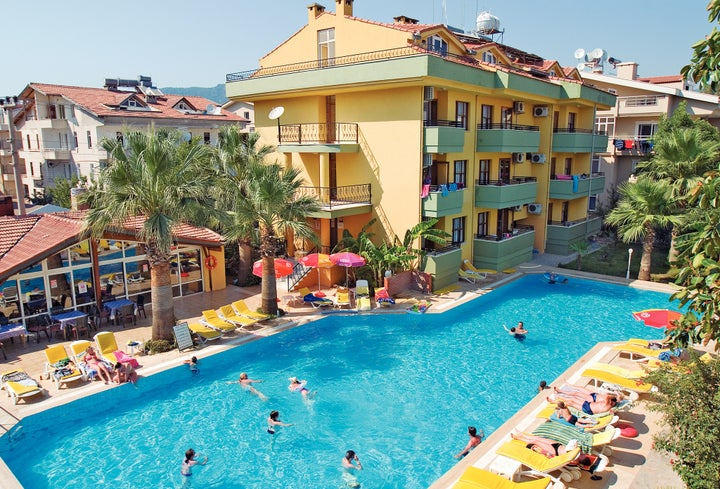 Club Palm Garden - Keskin Hotel & Apartments in Marmaris, Dalaman, Turkey