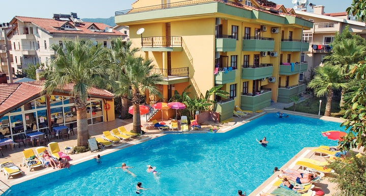 club palm garden keskin hotel apartments in marmaris dalaman turkey - Palm Garden Apartments
