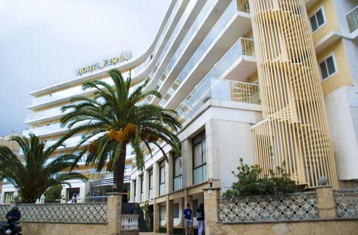 Hotel Esplai in Calella, Costa Brava, Spain