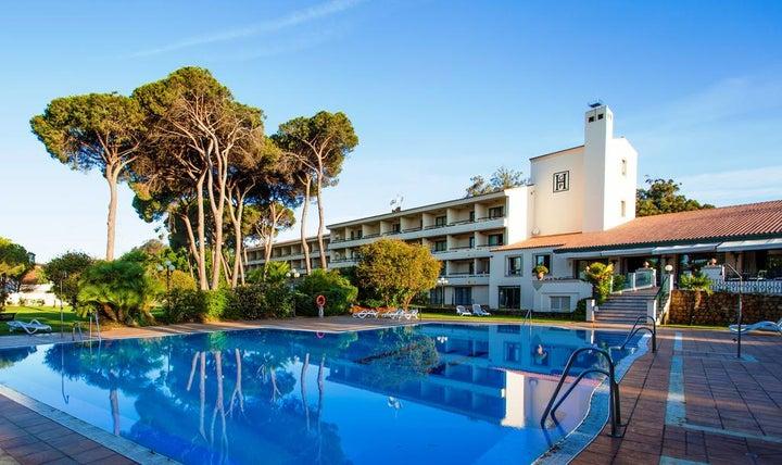 Guadacorte Park Hotel in Algeciras, Costa del Sol, Spain