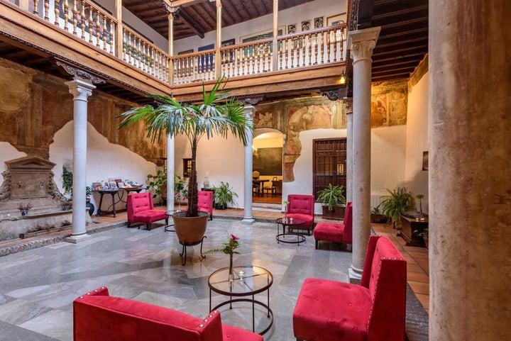 Palacio Santa Ines in Granada, Andalucia, Spain