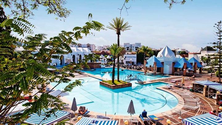 Caribbean Village Agador in Agadir, Morocco