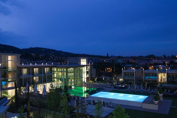 Hotel Spa Suite & Terme Aqualux in Bardolino, Lake Garda, Italy