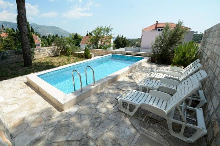 Villa Avantgarde in Mlini, Dubrovnik Riviera, Croatia